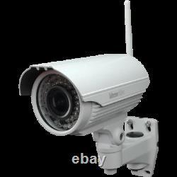 Telekom Smart Home Kamera Aussen Bitron AV7210/10 WLAN 2MPx HD 720p Magenta