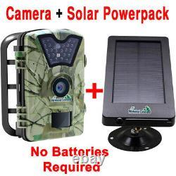 Wilderness Trail Solar Animal Camera Wireless Waterproof Infrared Night Vision