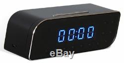 Wireless Clock Camera WIFI IP Room Home Security Video Recorder