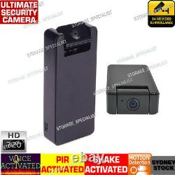 Wireless Security Camera Car Home Voice Motion Activated Detection