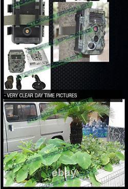 Wireless Security Camera Solar Battery System 1080 Trail Farm