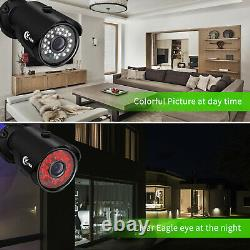 XVIM 1080P HDMI DVR Home Outdoor Security Camera System Night Vision CCTV Wired