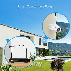 ZOSI 1080p Home Security Camera System Wireless Outdoor CCTV 8CH NVR Kit 1TB HDD