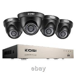 ZOSI H. 265 8CH 5MP Lite DVR 1080P Outdoor Indoor Home Security Camera System 1TB