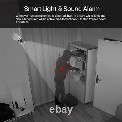 ZOSI WiFi Outdoor Home Security Wireless IP Camera with IR Night Vision 4 Pack