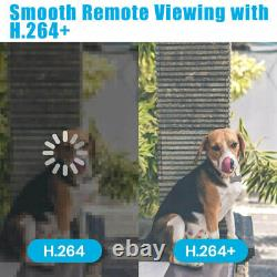 1080p 4ch 2mp Hd Wifi Home Security Camera System Wire Outdoor Ip Cctv Nvr Kit