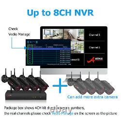 1080p Anran Wireless Security Camera System Home Hd 8ch 4pcs Nvr Cctv Waterproof