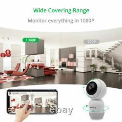 1080p Hd 2.4g Wifi Smart Ip Caméra Cctv Intérieure Caméra De Sécurité Baby Monitor