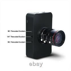 12mp Hdmi Caméra Hd1080p Usb Streaming Webcam Enregistrement 4k@30fps Objectif 6-12mm