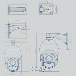150m Ir Sony307 36x Zoom 1080p Ahd Ptz Speed Dome Camera Support Cvi/tvi/cvbs