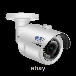 16 Canaux Nvr 12 X 4k 8mp Reconnaissance Faciale De L'ia Système De Caméra De Sécurité