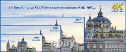 16 Channel 4k Nvr 8 8mp Poe Ip Ai Color Night Vision Dome Système De Caméra De Sécurité