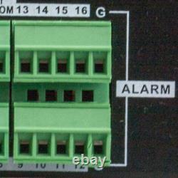 16 Channel 8mp 4k Nvr 12 X 5mp 1920p Poe Ip Système De Caméra De Sécurité À Domicile