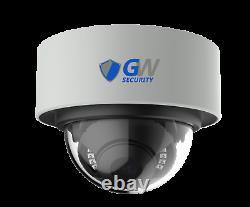 16 Channel Nvr 16 4k Poe Ip Couleur Nuit Vision Microphone De Sécurité Système