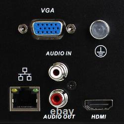 16ch Nvr 4k 8mp Microphone Motorisé Ip Poe Bullet & Dome Security Camera System