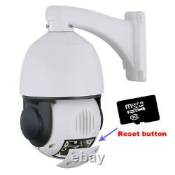 20x Zoom 5mp Poe Humanoid Recognition Ptz Ip Camera Outdoor Auto Track Sd Card