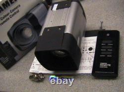 27x Zoom Caméra CCD 12v Dc+rf Télécommande Sans Fil Cctv 700tvl Day Night Cam