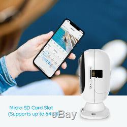 2-set Caméra De Sécurité Sans Fil Wifi Rechargeable Reolink Argus 2 + Panneau Solaire