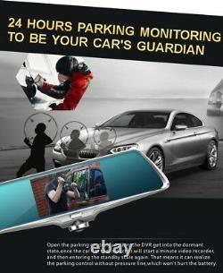 360° Panoramic View 5 Car Video Dvr Dual Lens Driving Security Rear View Camera
