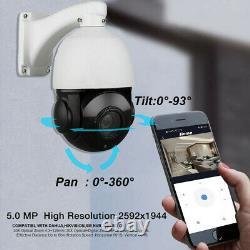 36x Optique Zoom Hd 1080p 5.0mp Cctv Ptz Caméra Ip Caméra De Sécurité Extérieure Poe