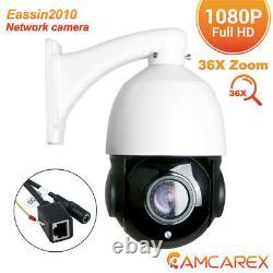 36x Zoom Optique Sony Cmos Hd 1080p 2.0mp Caméra Ip Cctv Ptz Extérieure Pan Tilt