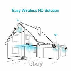 4 Camaras De Seguridad Wifi Extérieur 1080p Inalambrica Con Vision Nocturna Vidéo