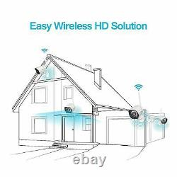 4 Zmodo Hd 720p Home Surveillance Outdoor Wireless Security Camera System Kit
