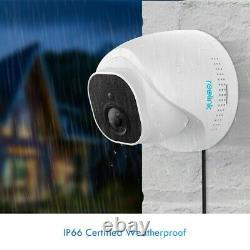 4-pack Reolink 5mp Poe Caméra De Sécurité Ip Surveillance Étanche Dome Rlc-520
