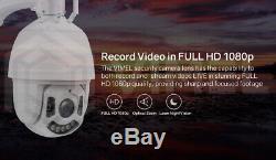 4g Extérieure Lumière D'inondation 64gb Accueil Sécurité 3g Ptz Caméra Wifi 30x Zoom Optique