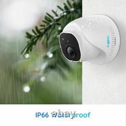 4k Système De Caméra De Sécurité 8mp 8ch Poe Nvr Kit 7/24 Enregistrement 2tb Hdd Rlk8-800d4