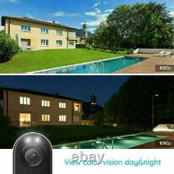 4x Caméra De Sécurité Wifi Extérieur Avec Spotlight Home Security System Reolink Lumus