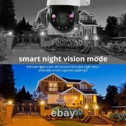 5mp Ai Auto Tracking Ip Ptz Dome Caméra P2p 30x Zoom Hikvision Compatible Avec