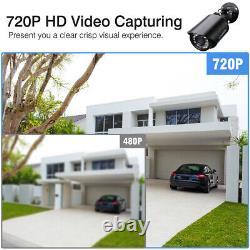 720p Ahd 4-en-1 Outdoor Home Security Cctv Bullet Camera Ir-cut Night Vision États-unis