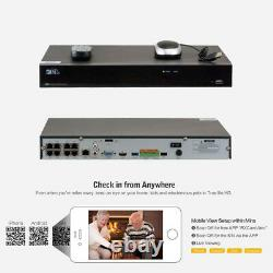 8 Canal 8mp 4k Nvr 8 X 5mp 1920p Poe Ip Outdoor Home Security Camera System