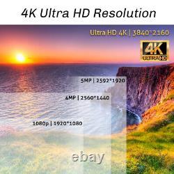 8 Channel 4k Nvr 6 X 8mp Full Color 4k Microphone Poe Système De Caméra De Sécurité Ip