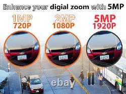 8 Channel 8mp 4k Nvr 6 X 5mp 1920p Poe Ip Outdoor Système De Caméra De Sécurité À Domicile 1t