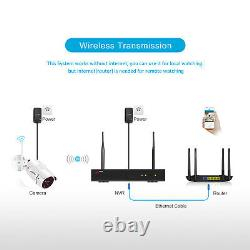 8ch 1080p Cctv Security Camera System Outdoor Wireless Home Cctv Hdmi Waterproof