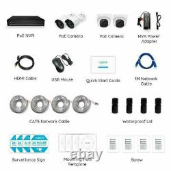 8ch 5mp Poe Security Camera System Nvr Cctv Outdoor Video Reolink Rlk8-520b2d2