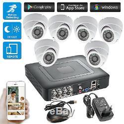 8ch Dvr Cctv Accueil Caméra De Sécurité Du Système De Surveillance Ahd Cam Jour / Nuit Ir Cut
