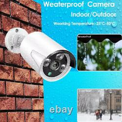 8ch Hd 1080p Audio Security Ip Camera System Wireless 2mp Wifi Nvr Kit Extérieur