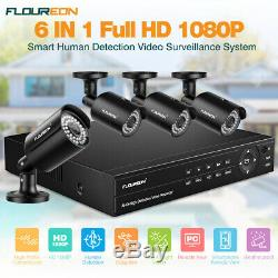 8ch True Hd 1080p Video Recorder Dvr 4xhd 1080p Caméra Ip Système De Sécurité