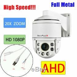Ahd 20x Zoom 2.0mp 1080p Sony Cmos Pan Tilt Caméra Ptz Cctv Sécurité Extérieure