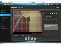 Amcrest 1080p Poe Outdoor Ptz Ip Camera (12x Optical Zoom) Speed Dome Renouvelé
