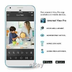 Amcrest 1080p Wifi Ip Ptz Caméra 25x Zoom Optique De Sécurité Du Système De Surveillance