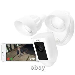 Anneau Caméra De Projecteur Extérieur, Blanc