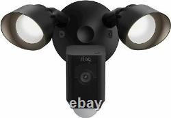 Anneau Projecteur Cam Plus Caméra De Surveillance 1080p Filaire D'extérieur Noir