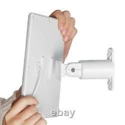 Anneau Stick Up Cam Batterie Avec Panneau Solaire Ensemble Caméra Traiter (1 Pack, Blanc)