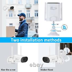 Anran 1080p Home Security Camera System Wireless Outdoor Cctv 4ch Nvr Avec 1tb
