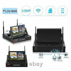 Anran 1080p Système De Sécurité Caméra Wifi Extérieur Cctv 7monitor 1 To Home Wireless