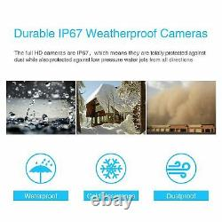 Anran 2way Audio Wireless 1080p Home Security Camera System In/outdoor 8ch 1 To